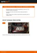 Kā nomainīt: priekšas bremžu klučus Audi A3 8L1 - nomaiņas ceļvedis