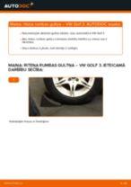 Kā nomainīt: aizmugures riteņa rumbas gultņa VW Golf 3 - nomaiņas ceļvedis