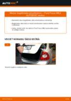 Kā nomainīt: bagāžnieka amortizatoru Ford Focus MK2 - nomaiņas ceļvedis