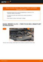 Kā nomainīt: priekšas bremžu klučus Ford Focus MK2 - nomaiņas ceļvedis