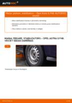 Soli-pa-solim remonta ceļvedis Opel Astra h l48