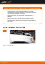 Kā nomainīt: priekšas bremžu diskus BMW X5 E53 - nomaiņas ceļvedis