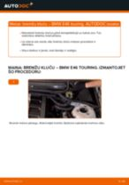 Kā nomainīt: aizmugures bremžu klučus BMW E46 touring - nomaiņas ceļvedis