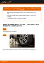 Kā nomainīt: aizmugures riteņa rumbas gultņa Ford Focus MK2 - nomaiņas ceļvedis