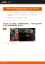 Automehāniķu ieteikumi VOLVO Volvo v50 mw 1.6 D Stikla tīrītāja slotiņa nomaiņai