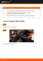Kā nomainīt: aizmugures amortizatoru Ford Focus DAW - nomaiņas ceļvedis