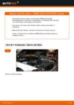 Kā nomainīt: aizmugures bremžu diskus BMW E39 - nomaiņas ceļvedis
