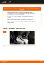 Audi A3 Sedan instrukcijas par remontu un apkopi