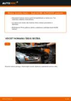 Kā nomainīt: aizmugures bremžu klučus Audi A4 B8 - nomaiņas ceļvedis