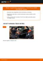 Kā nomainīt: bagāžnieka amortizatoru Ford Focus DAW - nomaiņas ceļvedis