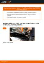 Kā nomainīt: priekšas amortizatora statni Ford Focus DAW - nomaiņas ceļvedis