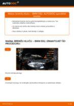 Soli-pa-solim PDF apmācība kā nomaināms BMW 1 Coupe (E82) Bremžu Kluči