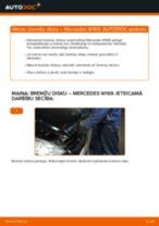 Automehāniķu ieteikumi MERCEDES-BENZ Mercedes W169 A 150 1.5 (169.031, 169.331) Stikla tīrītāja slotiņa nomaiņai