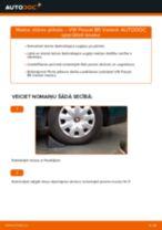 Kā nomainīt: stūres pirksta VW Passat B5 Variant benzīns - nomaiņas ceļvedis