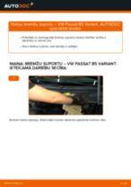 Kā nomainīt: aizmugures bremžu suportu VW Passat B5 Variant benzīns - nomaiņas ceļvedis