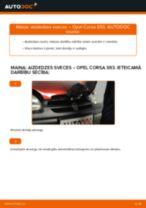 Tiešsaistes bezmaksas instrukcijas kā atjaunināt Aizdedzes svece OPEL CORSA B (73_, 78_, 79_)