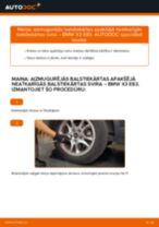 Automehāniķu ieteikumi BMW BMW X3 E83 3.0 d Gaisa filtrs nomaiņai