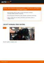 Automehāniķu ieteikumi VW VW GOLF II (19E, 1G1) 1.8 Riteņa rumbas gultnis nomaiņai