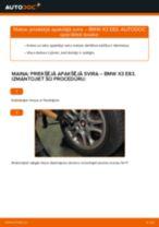Automehāniķu ieteikumi BMW BMW E82 123d 2.0 Eļļas filtrs nomaiņai