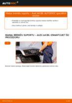 Audi A4 b7 darbnīcas rokasgrāmata
