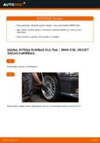 Kā nomainīt: priekšas riteņa rumbas gultņa BMW E36 - nomaiņas ceļvedis
