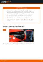 Tiešsaistes bezmaksas instrukcijas kā atjaunināt Bremžu diski MAZDA 3 Saloon (BK)