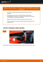 Bremžu diski maiņa: pdf instrukcijas MAZDA 3