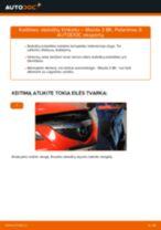 CHRYSLER Rankinio Stabdžio Trosas keitimas pasidaryk pats - internetinės instrukcijos pdf