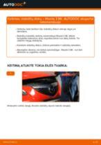 Kaip pakeisti Oro filtras, keleivio vieta FORD COURIER - instrukcijos internetinės
