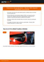 Tutorialul etapizat în format PDF pentru substituir Disc frana la MAZDA 3 Saloon (BK)