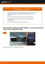Cum să schimbați: stergatoare parbriz din față la Audi A4 B5 Avant   Ghid de înlocuire