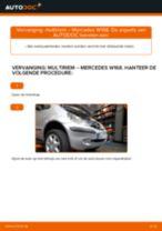 Hoe multiriem vervangen bij een Mercedes W168 – Leidraad voor bij het vervangen