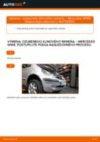 Návod na obsluhu MERCEDES-BENZ Trieda A - Manuál PDF