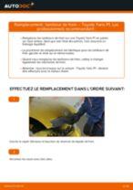Remplacement Tambours De Frein TOYOTA YARIS : instructions pdf