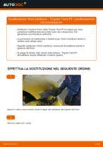 Come cambiare tamburo freno su Toyota Yaris P1 - Guida alla sostituzione