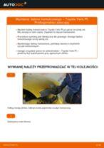 Wymiana Bęben hamulcowy: pdf instrukcje do TOYOTA YARIS