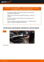 Kuidas vahetada Ford Mondeo Mk3 sedaan salongifilter – õpetus
