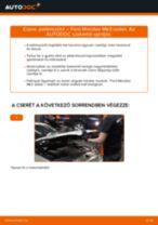 Pollenszűrő-csere Ford Mondeo Mk3 sedan gépkocsin – Útmutató