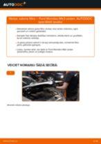 Kā nomainīt: salona gaisa filtru Ford Mondeo Mk3 sedan - nomaiņas ceļvedis