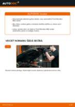 Riteņa rumbas gultnis maiņa: pdf instrukcijas FORD MONDEO