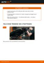 Slik bytter du hjullager fremme på en Ford Mondeo Mk3 sedan – veiledning