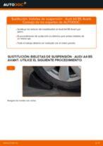 Cómo cambiar: bieletas de suspensión de la parte trasera - Audi A4 B5 Avant | Guía de sustitución
