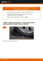 Hátsó stabilizátor rúd-csere Audi A4 B5 Avant gépkocsin – Útmutató