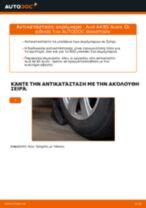 Πώς να αλλάξετε ακρόμπαρο σε Audi A4 B5 Avant - Οδηγίες αντικατάστασης