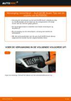 Ruitenwisser Mechaniek veranderen AUDI A4: werkplaatshandboek