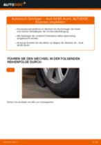 Wie Audi A4 B5 Avant Domlager vorne wechseln - Anleitung