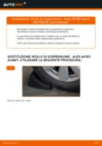 Come cambiare molle di sospensione della parte posteriore su Audi A4 B5 Avant - Guida alla sostituzione