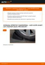Jak wymienić sprężyny zawieszenia tył w Audi A4 B5 Avant - poradnik naprawy