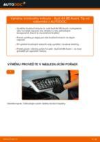 Výměna Brzdové Destičky AUDI A4: zdarma pdf