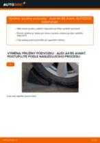 Jak vyměnit zadní pružiny podvozku na Audi A4 B5 Avant – návod k výměně